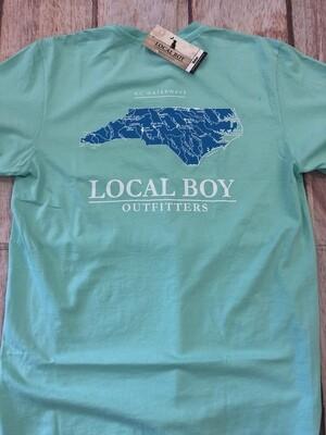Local Boy NC Waterways Island Reef