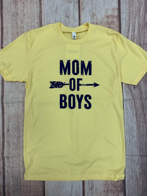 Mom Of Boys Tee