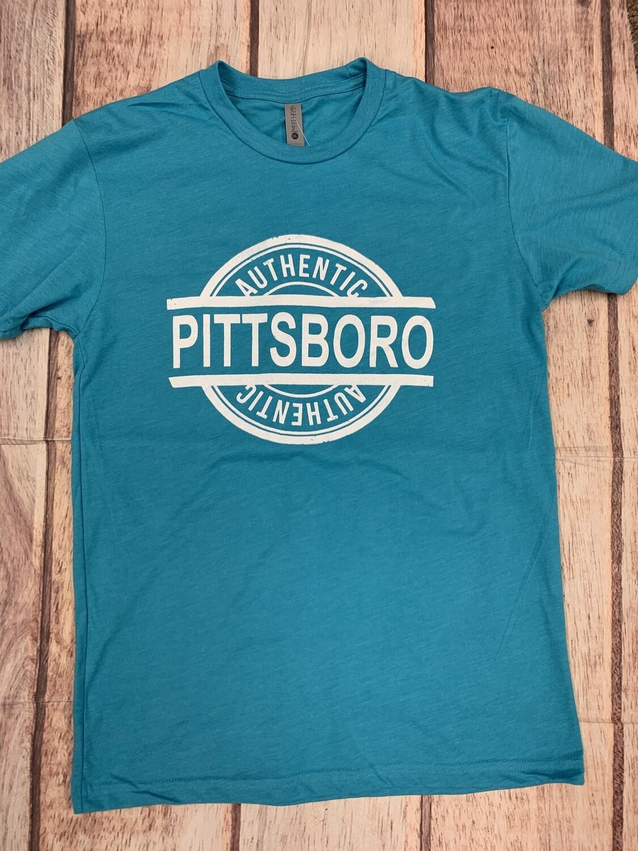 Authentic Pittsboro Vintage Tee Blue