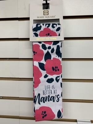 Mary Square Tea Towel