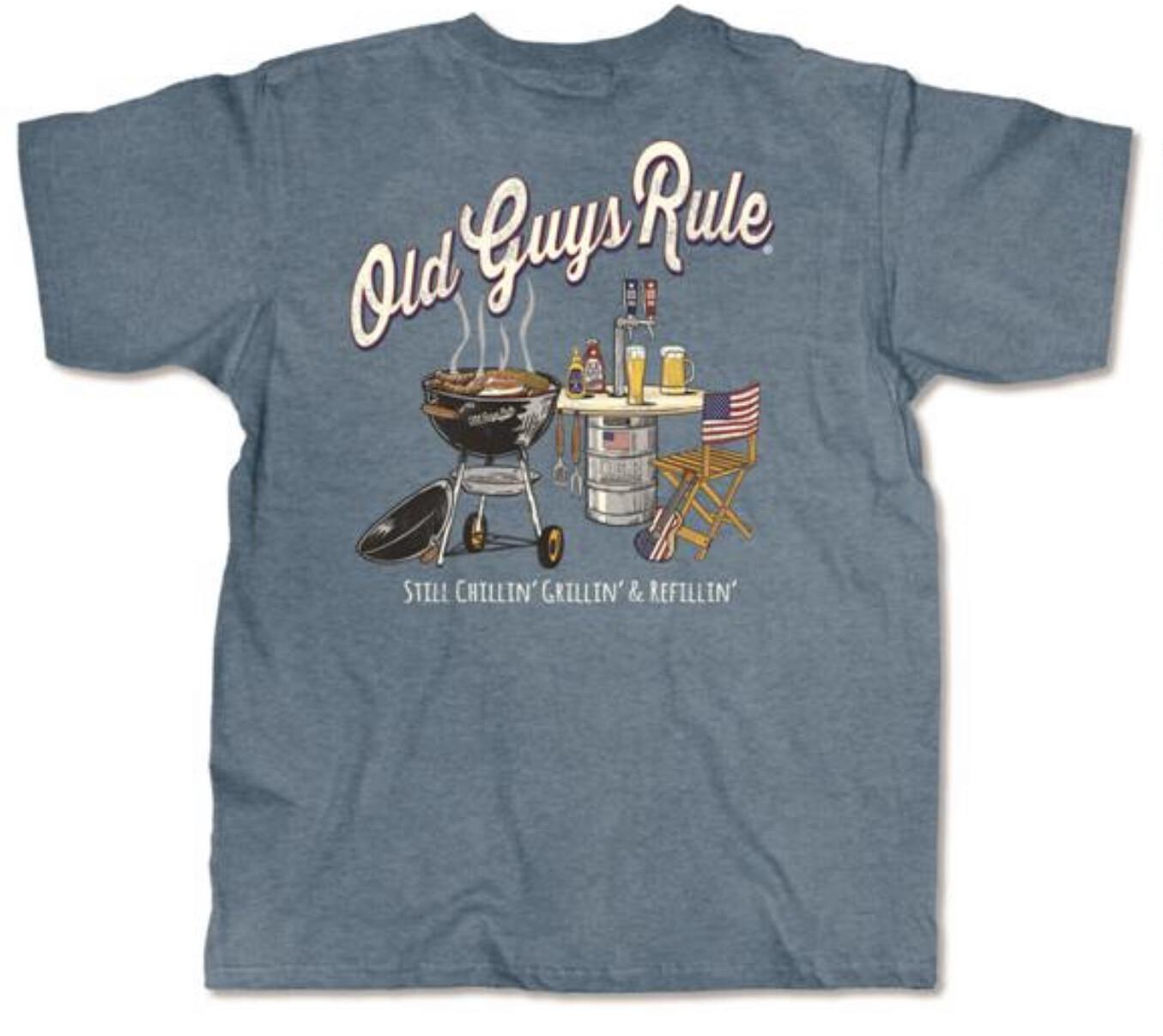 Old Guys Rule Still Grillin