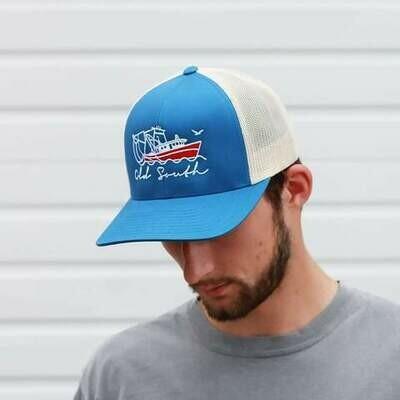 Old South Shrimp Boat Trucker Hat