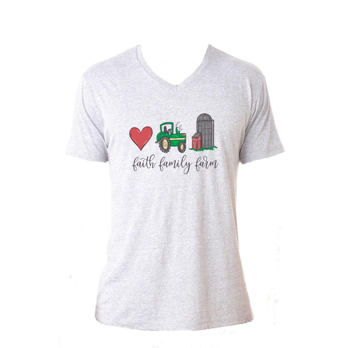 Jane Marie Faith Family Farm Tshirt