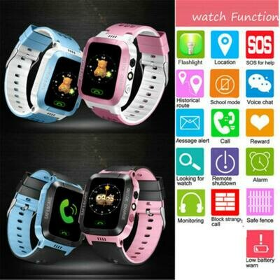 Kids Smart Watch LBS Positioning Tracker Not GPS SOS Call Safe Anti-lost Monitor