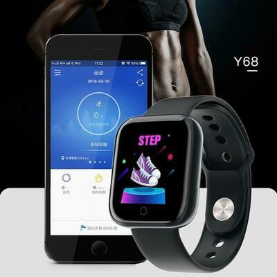 Smart Watch for Women and Men, Heart Rate Tracker Blood Pressure Smartwatches Waterproof