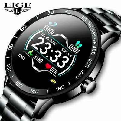 Fashion Men's Watches Top Brand Luxury WristWatch Quartz Clock Blue Smart Watches for Men