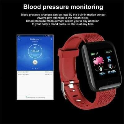 Smart Watches 116 Plus Heart Rate best cheap smartwatch Wristband Sports Watches Band Waterproof