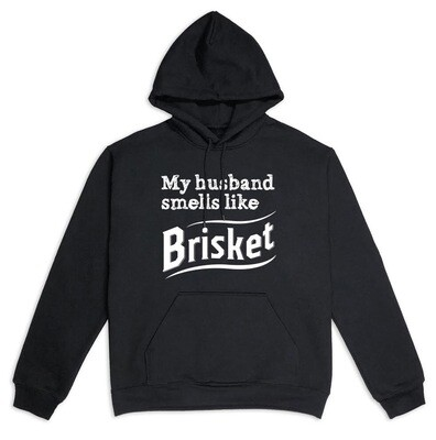Толстовка MY HUSBAND SMELLS LIKE BRISKET