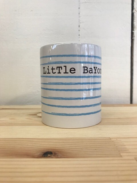 MUG Little Bayonne Rayé bleu