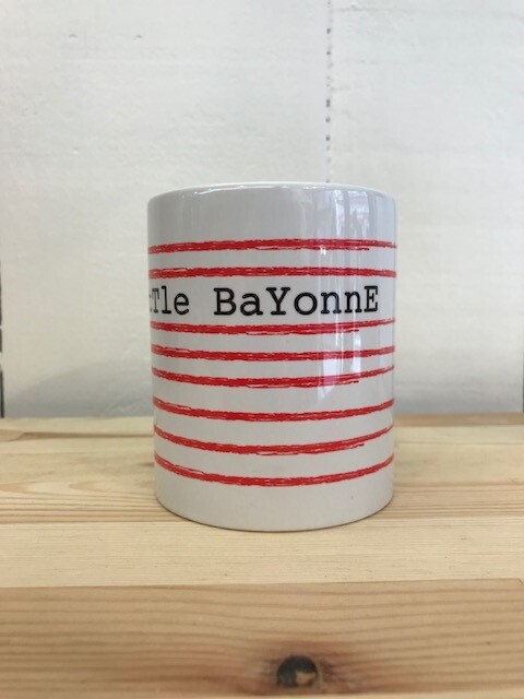 MUG Little Bayonne Rayé rouge