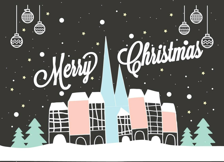 Carte Postale - Merry Christmas - BDN