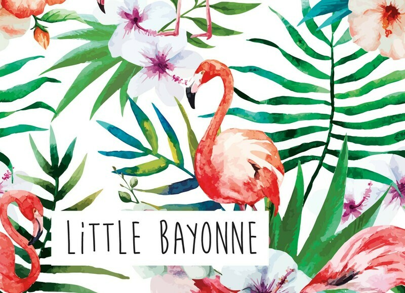 Carte Postale - Flamant Bayonnaise