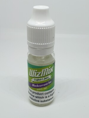 Wizmix Blackcurrant Ice 10ml 6mg 50/50