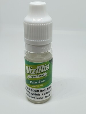 Wizmix Polar Bear 10ml 6mg 50/50