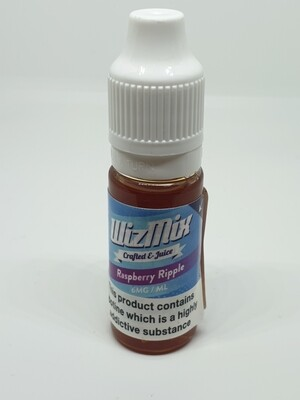 Wizmix Raspberry Ripple 10ml 6mg 50/50