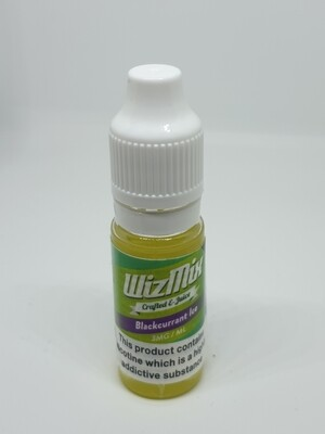 Wizmix Blackcurrant Ice 10ml 3mg 50/50