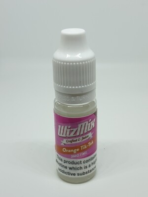 Wizmix Orange Tik-Tak 10ml 3mg 50/50