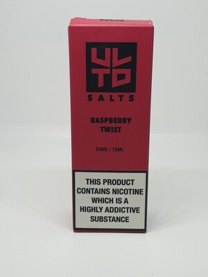 ULTD Salts Raspberry Twist 10ml 20mg