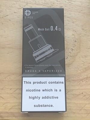 Augvape Vaperizzo Druga Narada Pro Coil 0.4ohm Pack 5