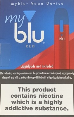Blu MyBlu Red Pen
