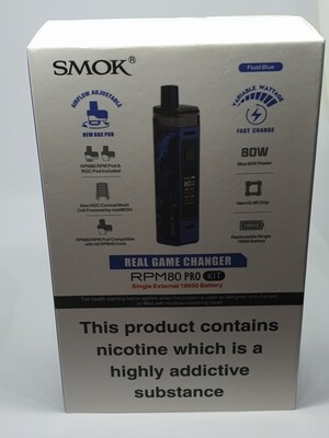 Smok Rpm80 Kit Blue Single Battery