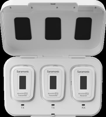 Saramonic Blink 500 Pro B2 - 3.5mm Stereoliitäntä Valkoinen
