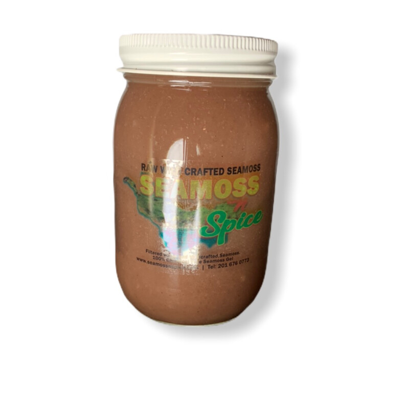 16 Oz WILDCRAFTED Sea Moss Gel Blended With Elderberry