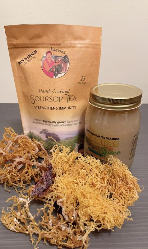 25 Soursop Tea Bags