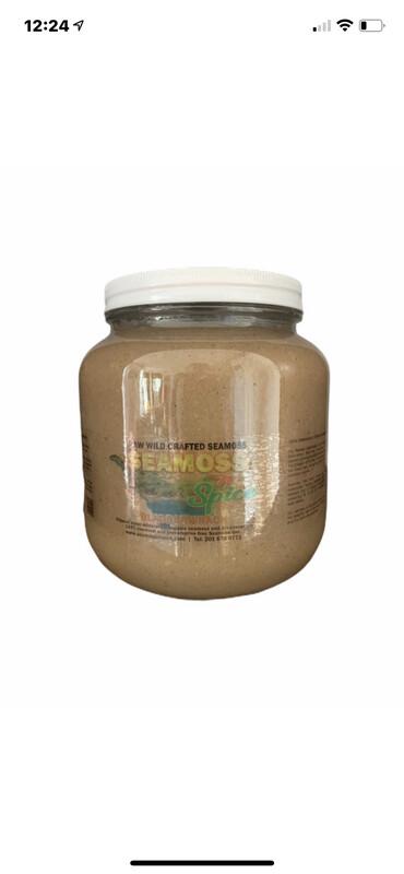 64 Oz Burdock Root Blended With Sea Moss Gel