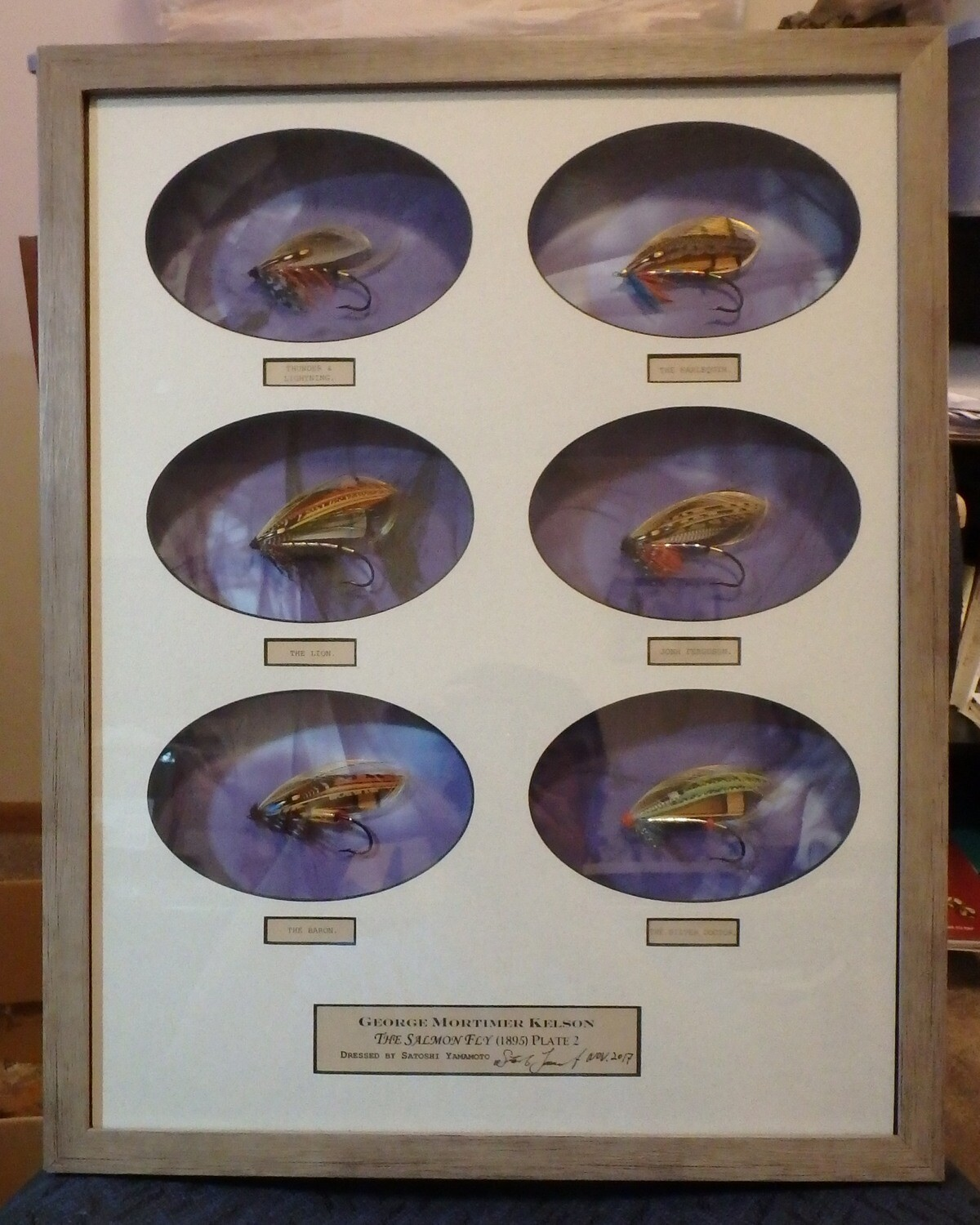 George Kelson's The Salmon Fly Plate 2 or Plate 3