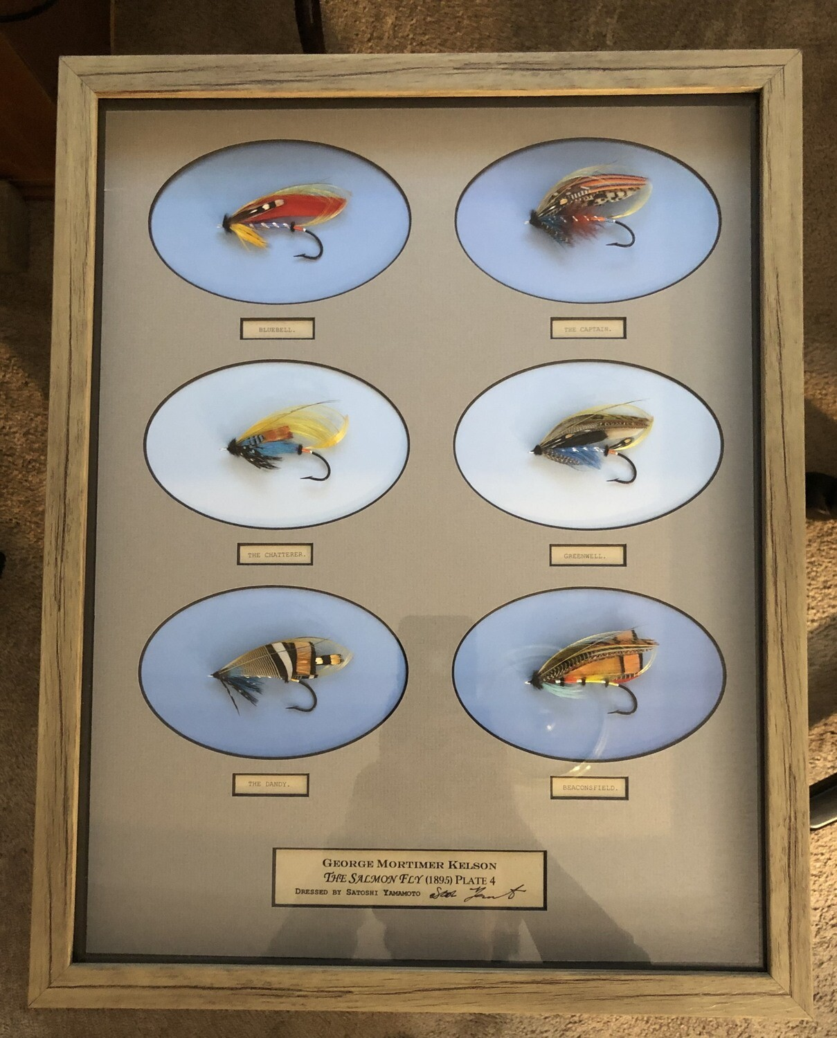 George Kelson's The Salmon Fly Plate 4 or Plate 5 or Plate 6