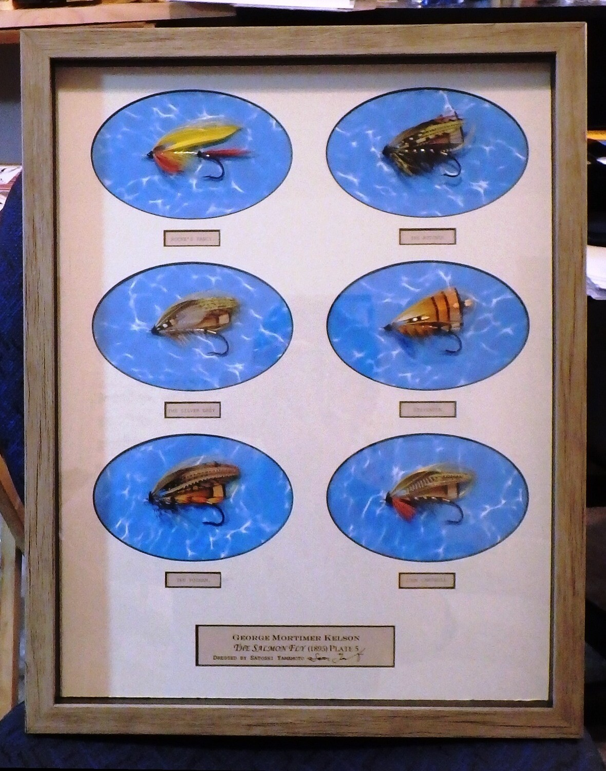 George Kelson's The Salmon Fly Plate 3 or Plate 5 or Plate 6