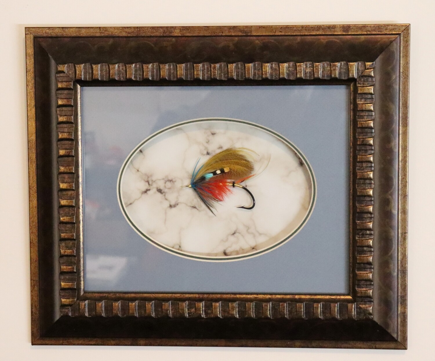 Britannia 80 - Framed Atlantic Salmon Fly