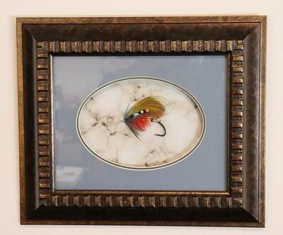 Britannia 80 - Framed Atlantic Salmon Fly
