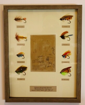 George Kelson's The Salmon Fly Plate 7 or 8