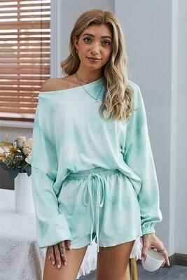 Tie-Dye Pajama Loungewear set