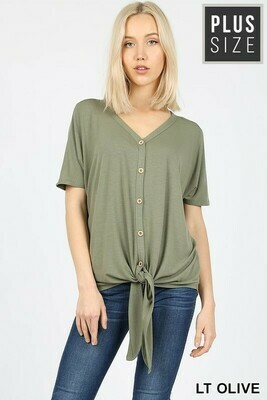 Short Sleeve French Terry Top