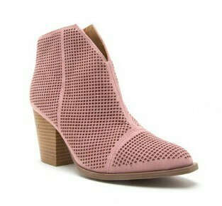 Desert Rose Ankle Booties