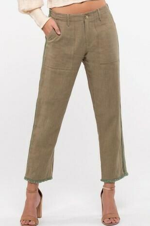 Braided Trim Pants