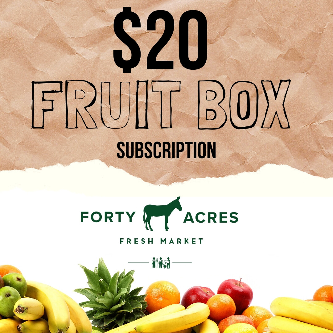 $20 Fruit Box Subscription