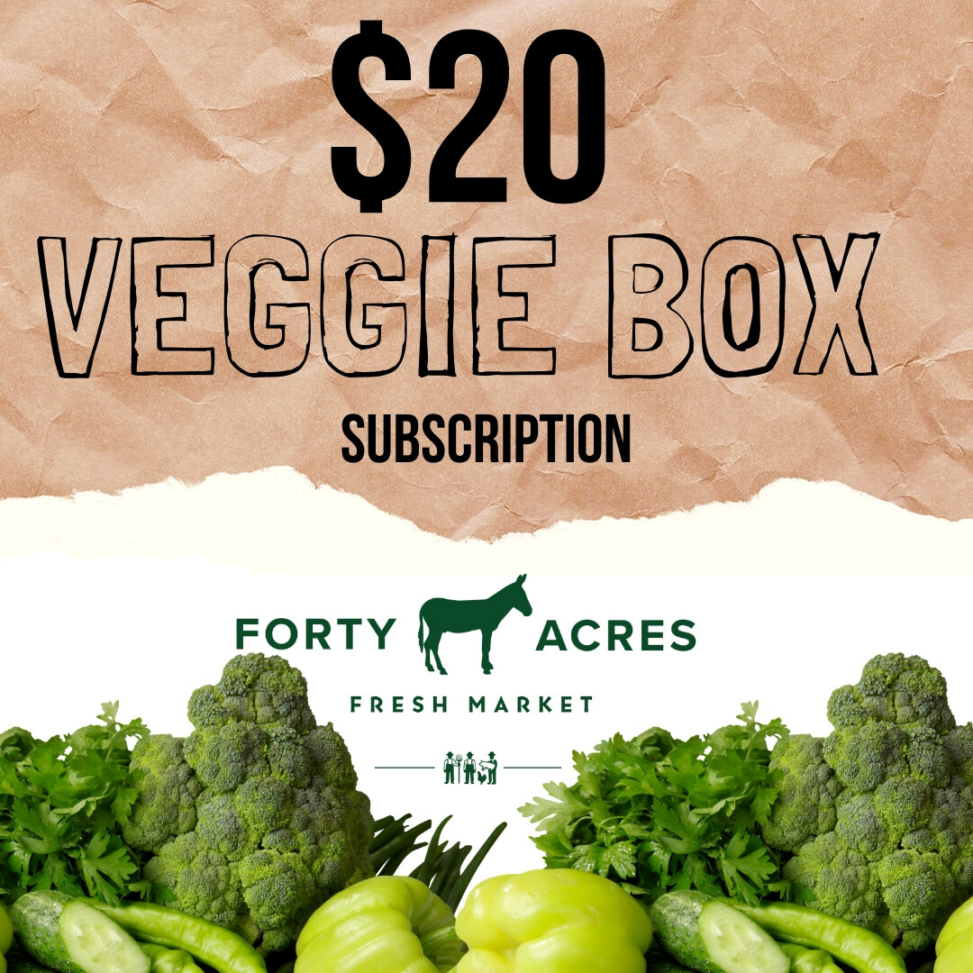 $20 Veggie Box Subscription