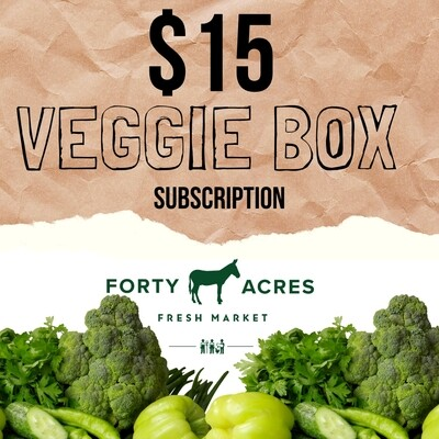 $15 Veggie Box Subscription
