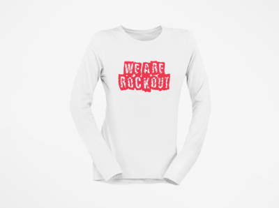 We Are Rock Out Long Sleeve Single Layer
