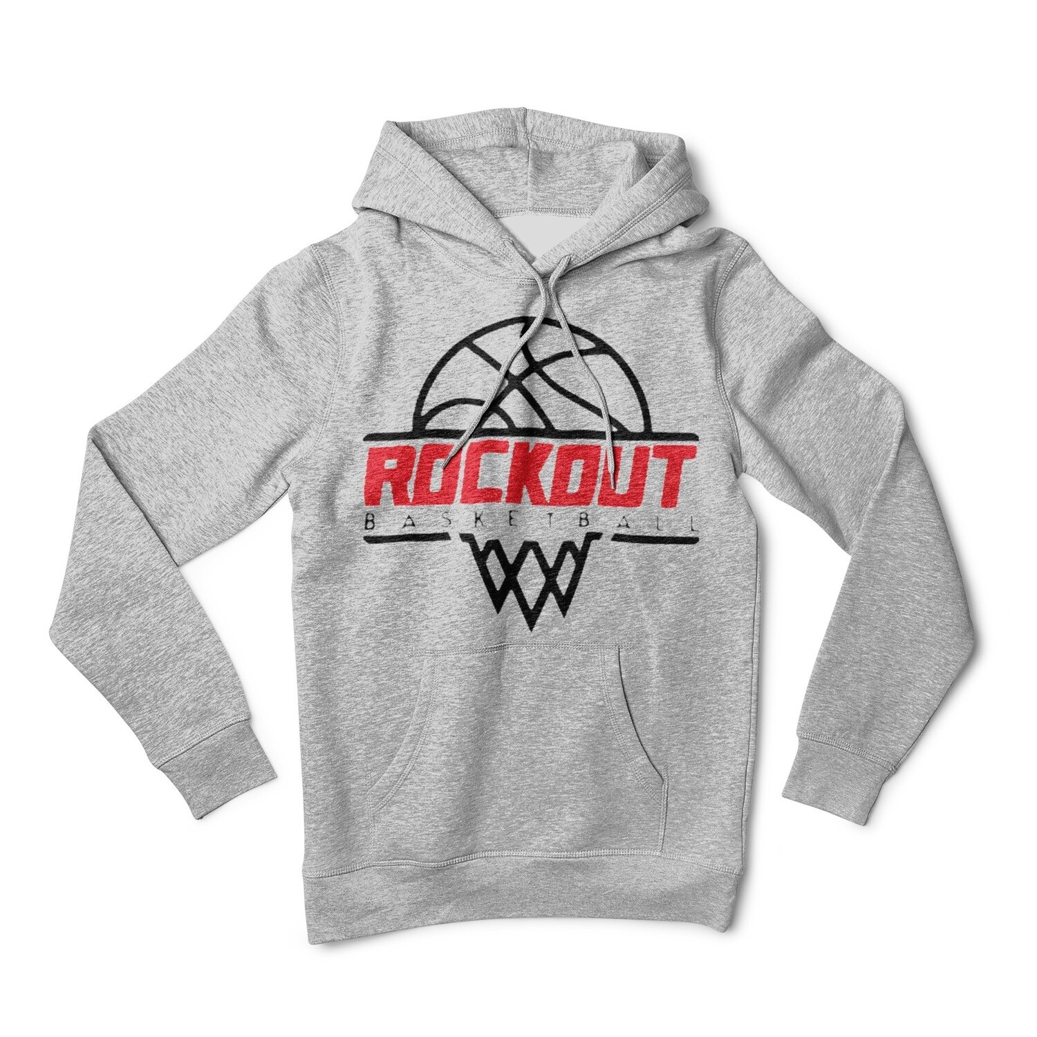 Rock Out Basketball Hoodie