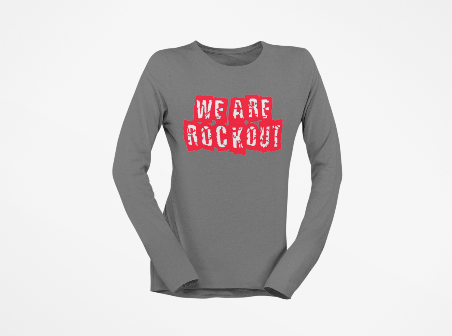 We Are ROCKOUT 2 Tone Long Sleeve T