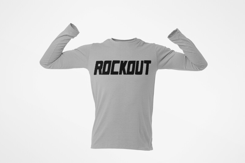 Rock Out Performance T Shirt Long Sleeve