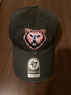 Black & Pink Breast Cancer Awareness Dad Hat For Men