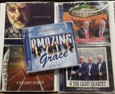 Bundle Special - All SEVEN CD's (Let the Glory Roll, Victory, Moments In Time, The Light of Christmas, Amazing Grace, Here's My Heart and Words of Life)