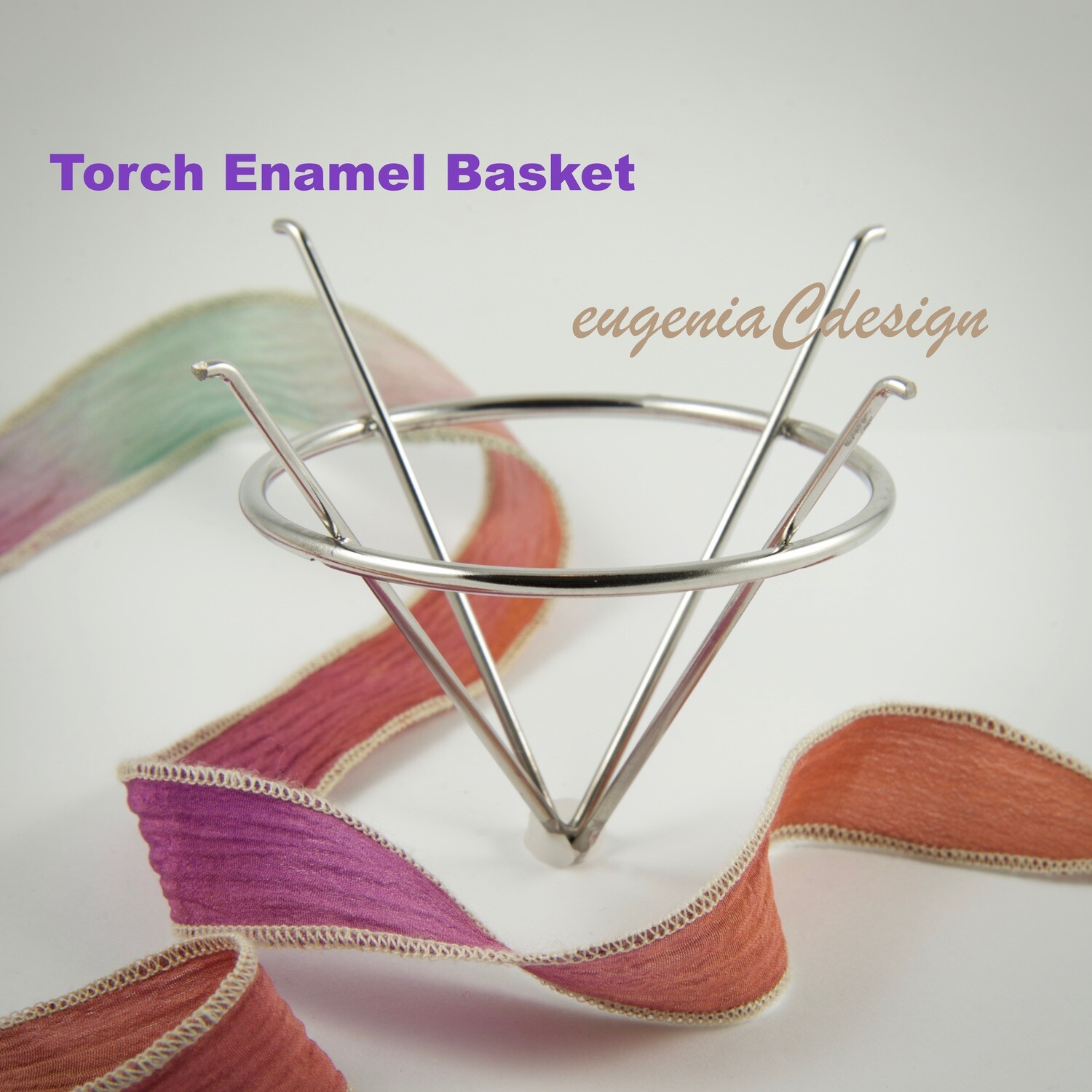 Torch Fire Enamel, Torch Fire Basket, Torch Fire Enamel Basket, Stainless Steel, Torch Enamel Basket