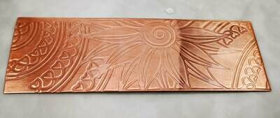Flower Textured Copper Sheet Metal 6
